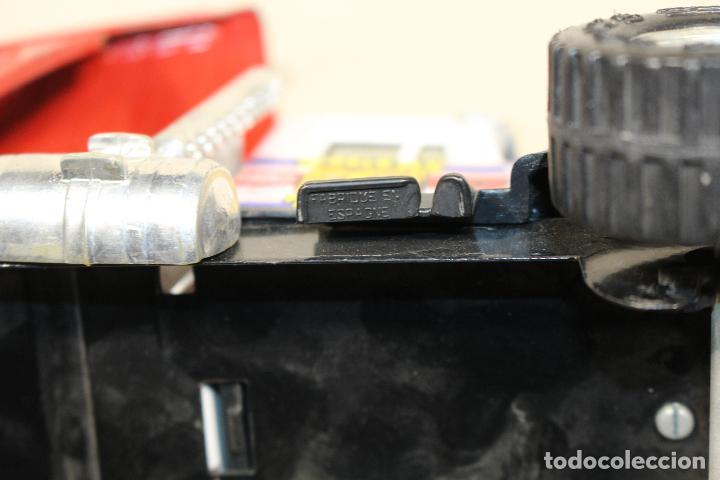 Juguetes antiguos Gozán: GOZAN - Camión chapa americano TIGERS TEAM SUPER BOSS BANDIT ROAD remolque porta coche MIGHTY TRANS - Foto 5 - 107627447