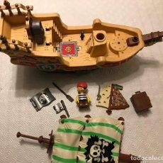 Juguetes antiguos Gozán: BARCO PIRATA 35 CM. Lote 112020479