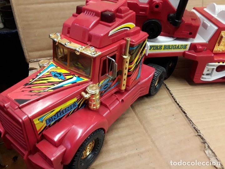 Juguetes antiguos Gozán: Camión bomberos gozan, 85 cms largo. - Foto 3 - 120003599
