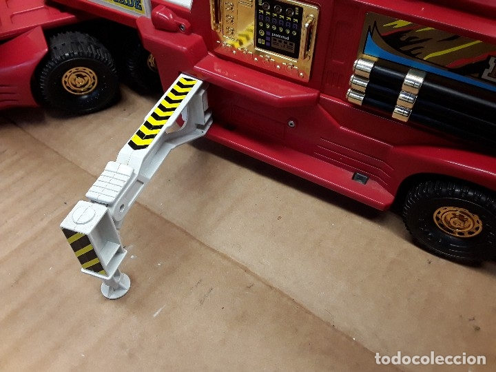 Juguetes antiguos Gozán: Camión bomberos gozan, 85 cms largo. - Foto 5 - 120003599