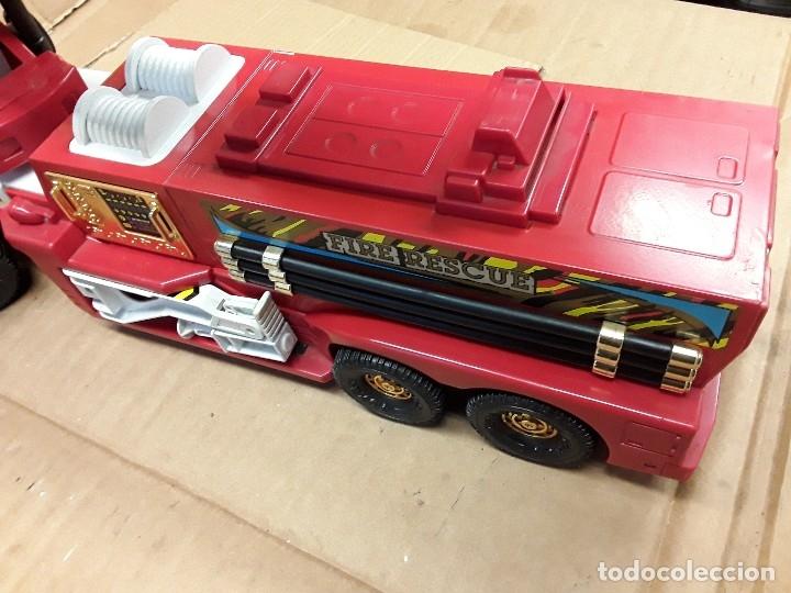 Juguetes antiguos Gozán: Camión bomberos gozan, 85 cms largo. - Foto 6 - 120003599