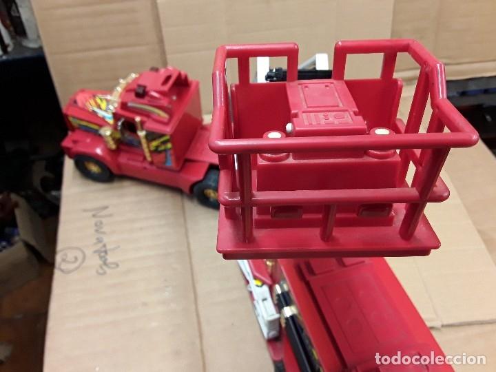 Juguetes antiguos Gozán: Camión bomberos gozan, 85 cms largo. - Foto 8 - 120003599