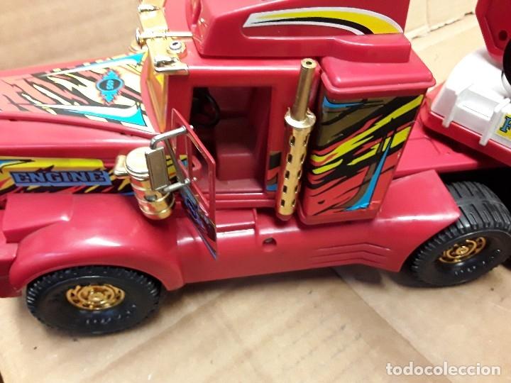 Juguetes antiguos Gozán: Camión bomberos gozan, 85 cms largo. - Foto 9 - 120003599