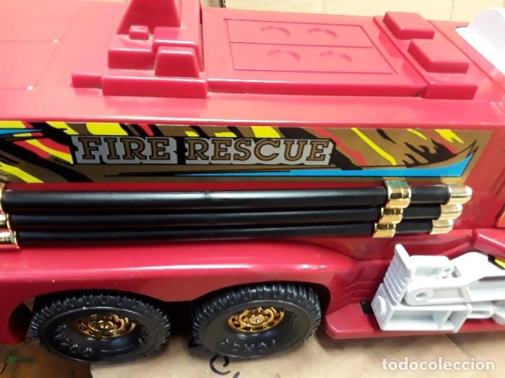 Juguetes antiguos Gozán: Camión bomberos gozan, 85 cms largo. - Foto 11 - 120003599