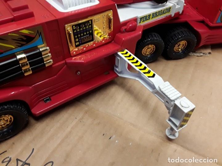 Juguetes antiguos Gozán: Camión bomberos gozan, 85 cms largo. - Foto 12 - 120003599