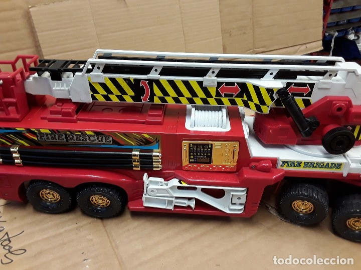 Juguetes antiguos Gozán: Camión bomberos gozan, 85 cms largo. - Foto 14 - 120003599