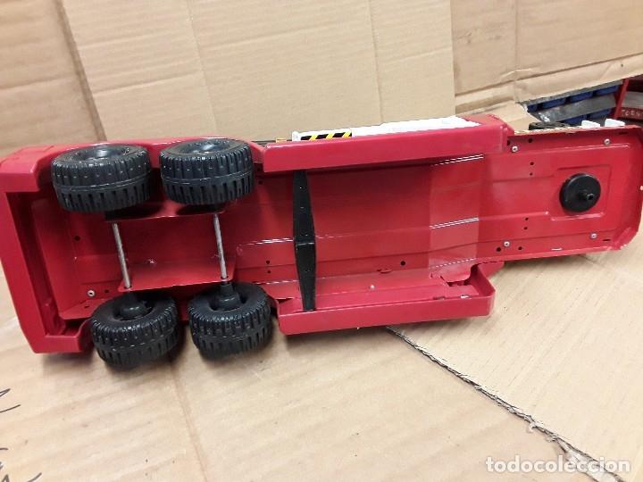 Juguetes antiguos Gozán: Camión bomberos gozan, 85 cms largo. - Foto 15 - 120003599