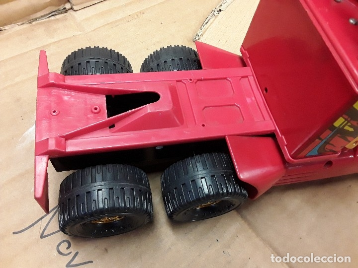 Juguetes antiguos Gozán: Camión bomberos gozan, 85 cms largo. - Foto 16 - 120003599