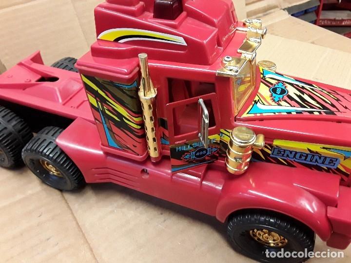 Juguetes antiguos Gozán: Camión bomberos gozan, 85 cms largo. - Foto 17 - 120003599
