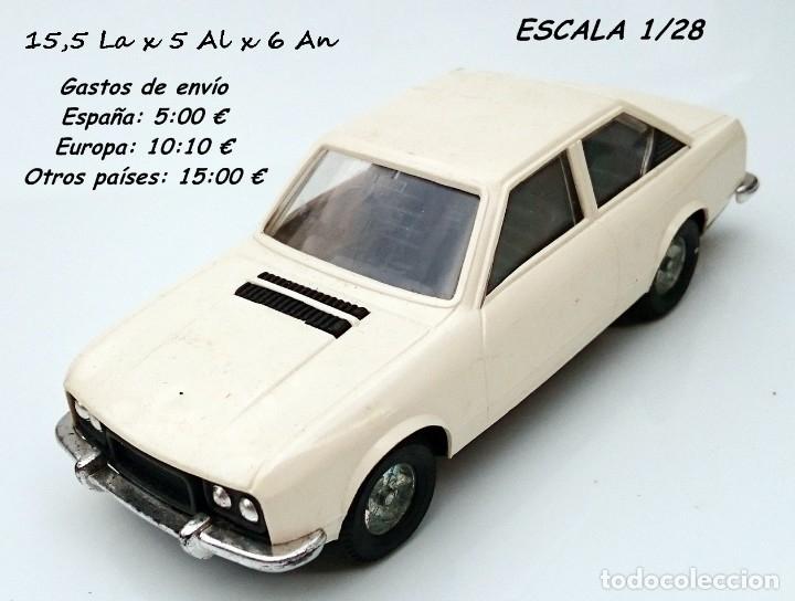 GOZAN SEAT 124 1800 - PLÁSTICO ORIGINAL AÑOS 70 (Juguetes - Marcas Clásicas - Gozán)
