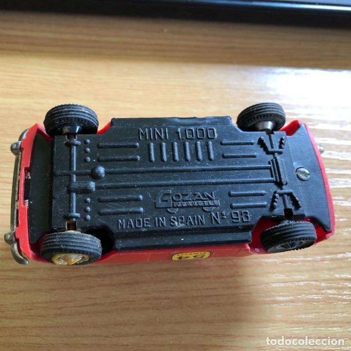 Juguetes antiguos Gozán: Antiguo coche a escala mini 1000 de gozan made in spain. - Foto 4 - 125238000