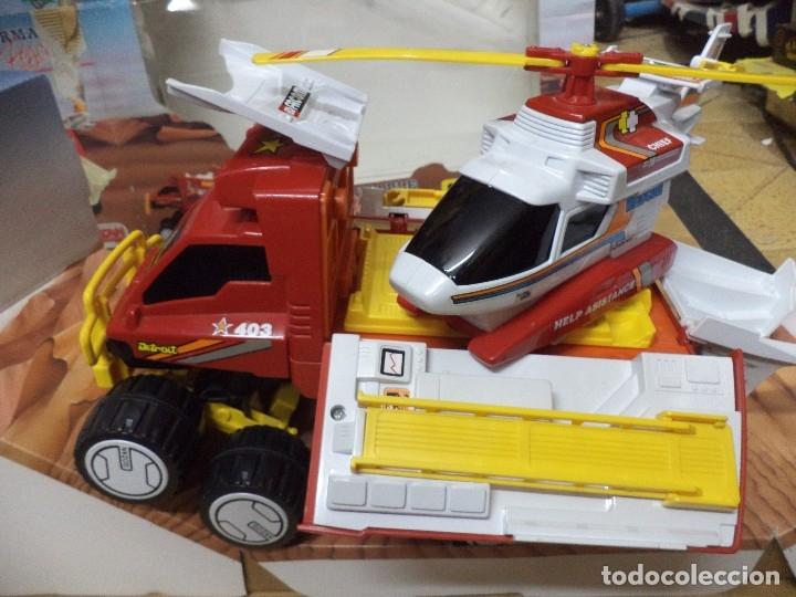 Juguetes antiguos Gozán: Camión todoterreno tranformable rescue.Gozán Made in Spain. - Foto 3 - 125851011