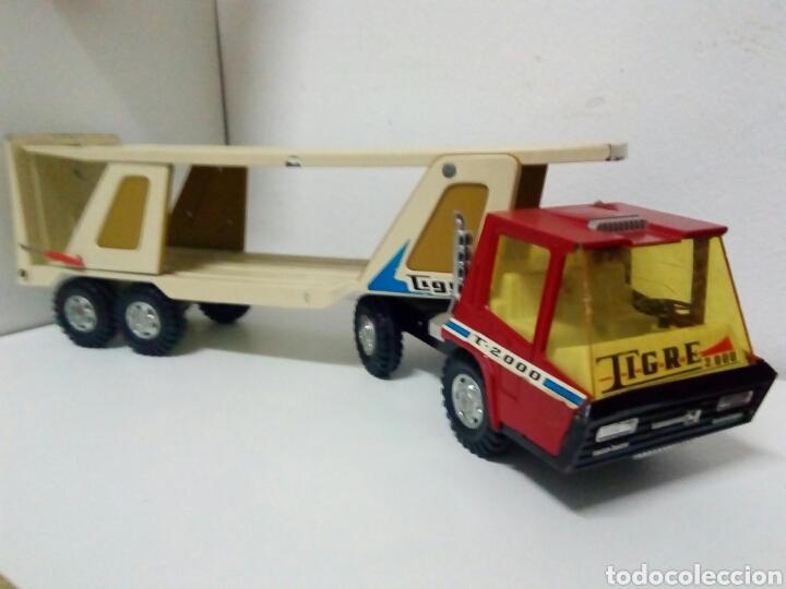 Juguetes antiguos Gozán: Camion tigre gozan grande - Foto 2 - 126505140