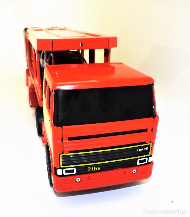 Juguetes antiguos Gozán: Gozan Camión porta-coches Serie Cobra - Foto 9 - 173572292