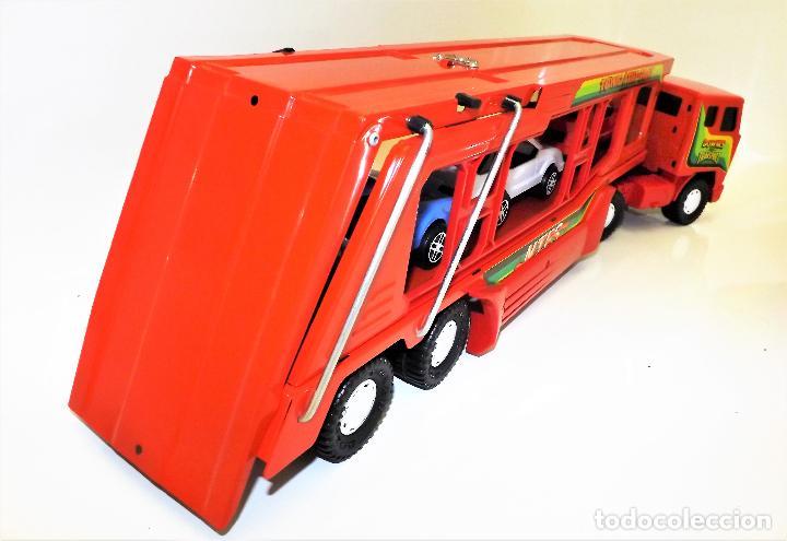 Juguetes antiguos Gozán: Gozan Camión porta-coches Serie Cobra - Foto 10 - 173572292
