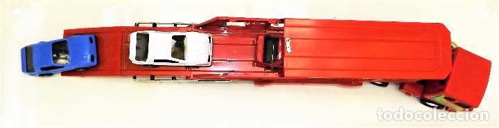 Juguetes antiguos Gozán: Gozan Camión porta-coches Serie Cobra - Foto 11 - 173572292