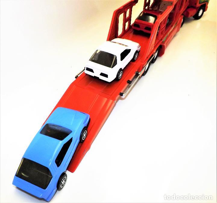 Juguetes antiguos Gozán: Gozan Camión porta-coches Serie Cobra - Foto 12 - 173572292