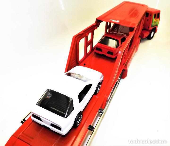 Juguetes antiguos Gozán: Gozan Camión porta-coches Serie Cobra - Foto 13 - 173572292