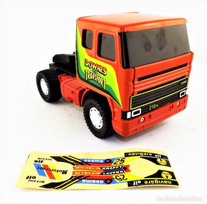 Juguetes antiguos Gozán: Gozan Camión porta-coches Serie Cobra - Foto 3 - 173572292
