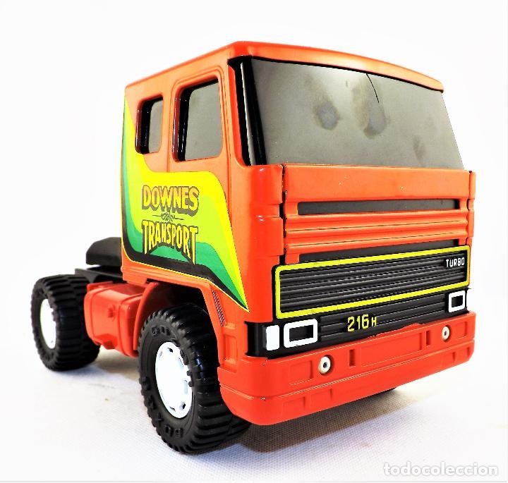 Juguetes antiguos Gozán: Gozan Camión porta-coches Serie Cobra - Foto 4 - 173572292