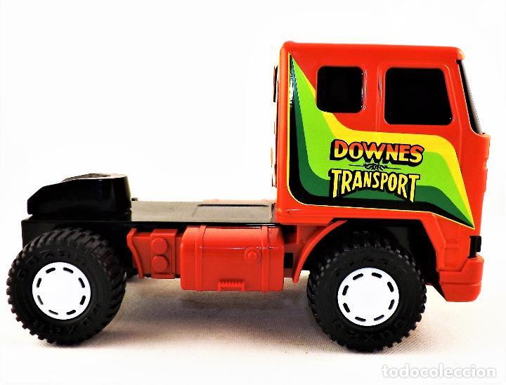 Juguetes antiguos Gozán: Gozan Camión porta-coches Serie Cobra - Foto 5 - 173572292