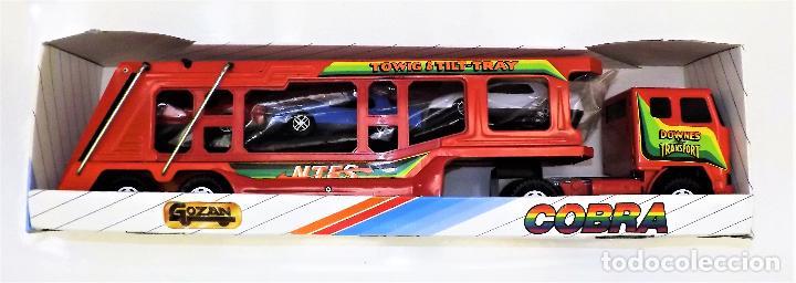 Juguetes antiguos Gozán: Gozan Camión porta-coches Serie Cobra - Foto 8 - 173572292
