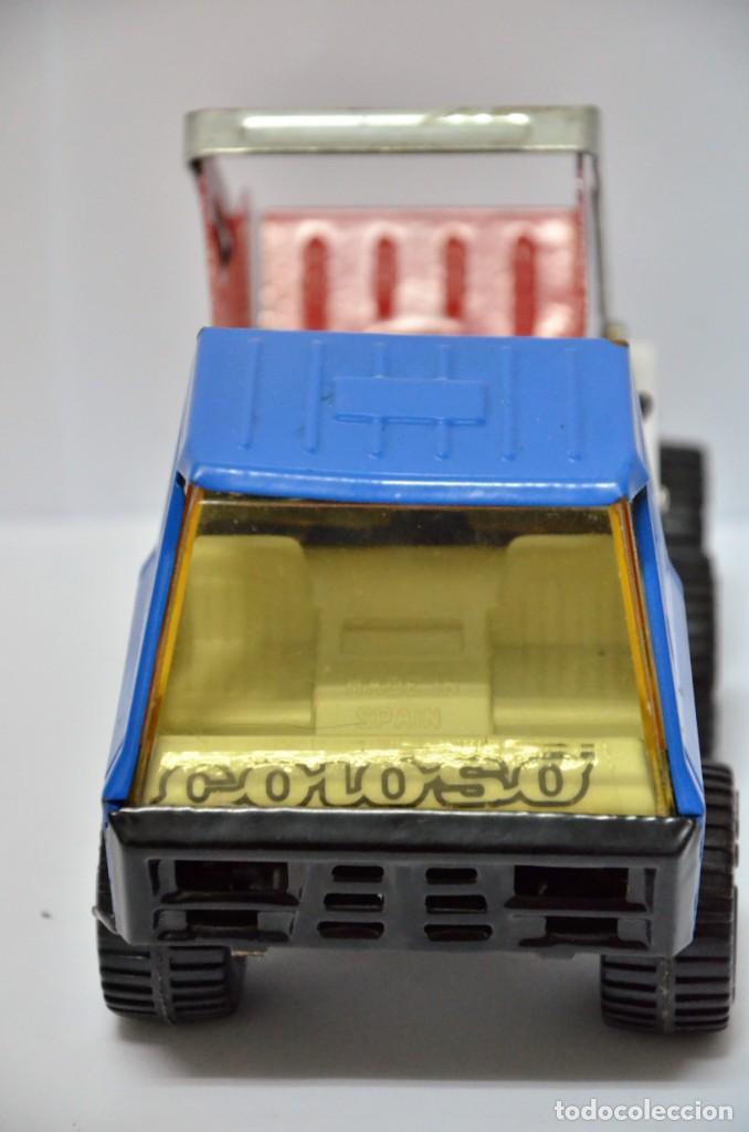Altes Spielzeug Gozán: Camión COLOSO Hojalata Juguete Años 60 - 70 Gozan España VINTAGE METAL - Foto 2 - 130490138