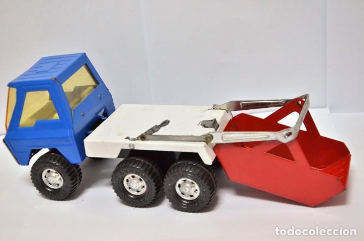Altes Spielzeug Gozán: Camión COLOSO Hojalata Juguete Años 60 - 70 Gozan España VINTAGE METAL - Foto 3 - 130490138