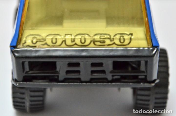 Altes Spielzeug Gozán: Camión COLOSO Hojalata Juguete Años 60 - 70 Gozan España VINTAGE METAL - Foto 4 - 130490138