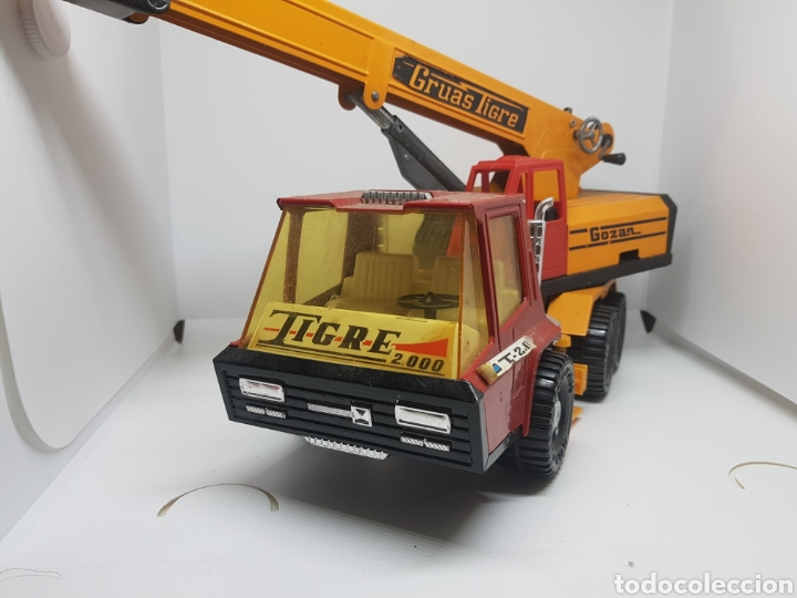 Juguetes antiguos Gozán: camion gozan gruas tigre t 2000 - car110 - Foto 2 - 134444762