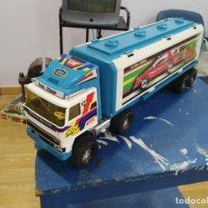 Brinquedos antigos Gozán: ANTIGUO CAMION DE GOZAN TRAILER MUY GRANDE TRUCK TRAIN BP TEAM STRANGE. Lote 192855652