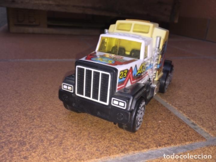 Juguetes antiguos Gozán: Camion trailer de gozan - Foto 4 - 139471862