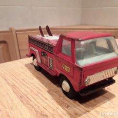 Juguetes antiguos Gozán - Gozan camión bomberos, dificil - 140605030