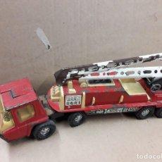 Juguetes antiguos Gozán - Gozan bronco, camion bomberos usado. - 141685426