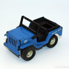Altes Spielzeug Gozán - ANTIGUO COCHE JEEP POLICIA GOZAN - AÑOS 70 / 80 - MADE IN SPAIN - 144725406