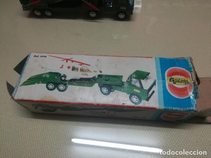 Juguetes antiguos Gozán: Antiguo camión de gozan militar en su caja miren fotos - Foto 13 - 146793070
