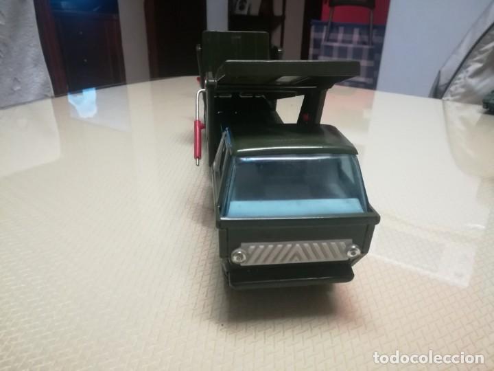 Juguetes antiguos Gozán: Antiguo camión de gozan militar en su caja miren fotos - Foto 28 - 146793070