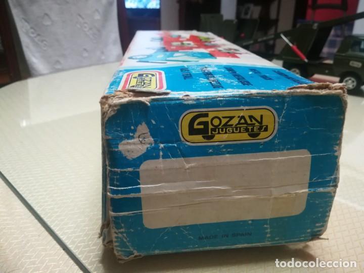 Juguetes antiguos Gozán: Antiguo camión de gozan militar en su caja miren fotos - Foto 29 - 146793070