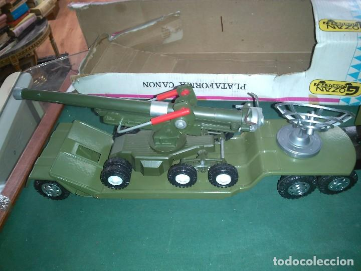 Altes Spielzeug Gozán: Gozan cañón plataforma con caja - Foto 2 - 147060954