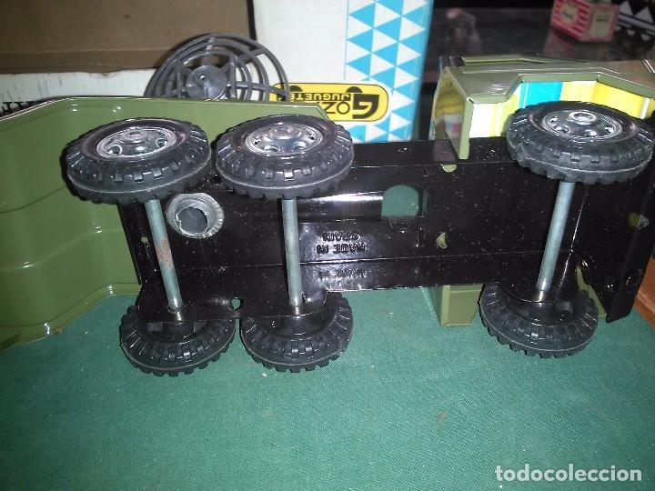 Altes Spielzeug Gozán: Gozan cañón plataforma con caja - Foto 4 - 147060954