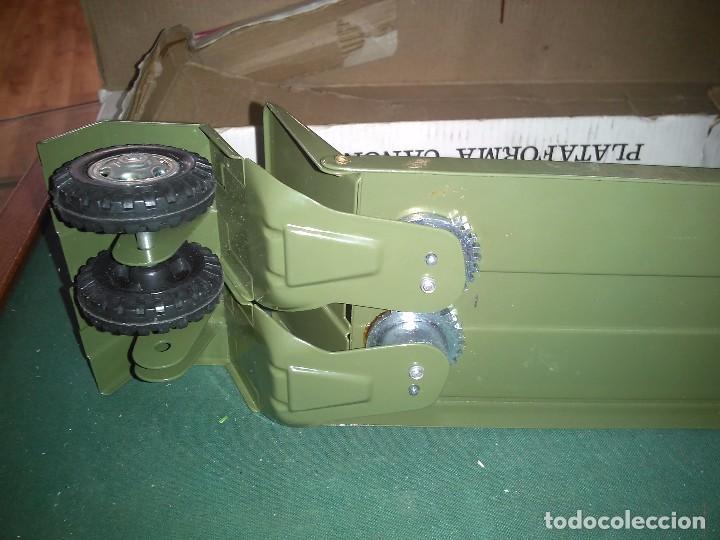 Altes Spielzeug Gozán: Gozan cañón plataforma con caja - Foto 5 - 147060954