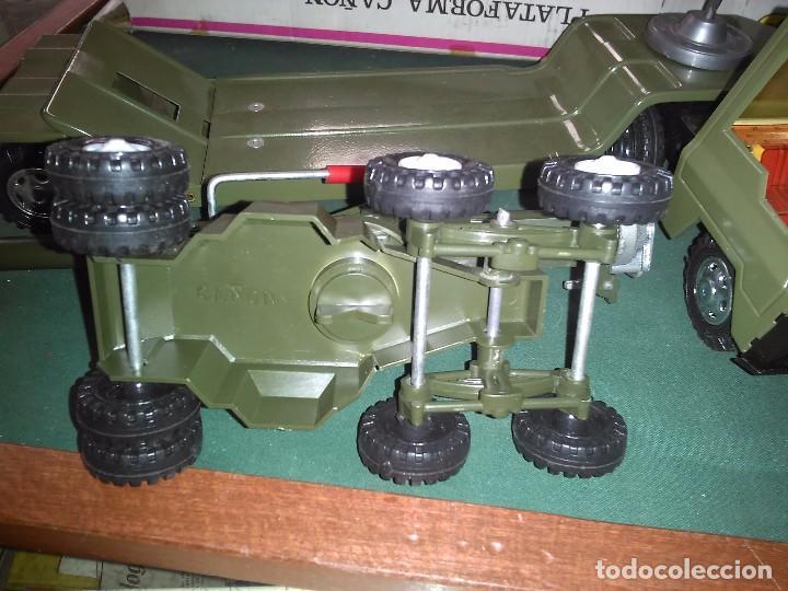 Altes Spielzeug Gozán: Gozan cañón plataforma con caja - Foto 8 - 147060954