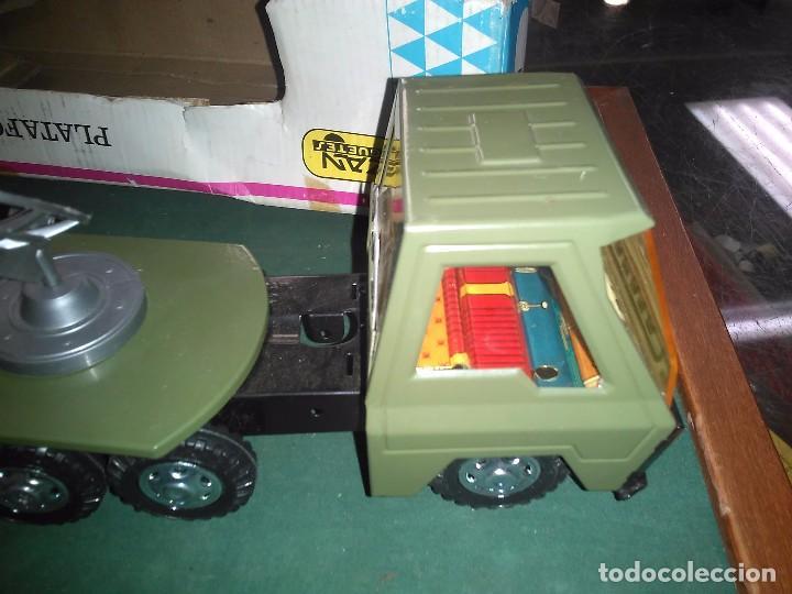 Altes Spielzeug Gozán: Gozan cañón plataforma con caja - Foto 10 - 147060954
