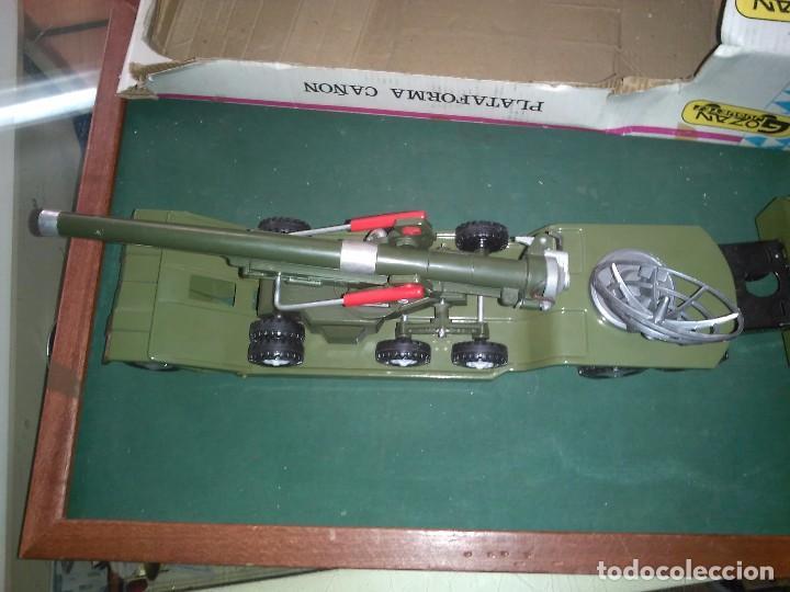 Altes Spielzeug Gozán: Gozan cañón plataforma con caja - Foto 11 - 147060954
