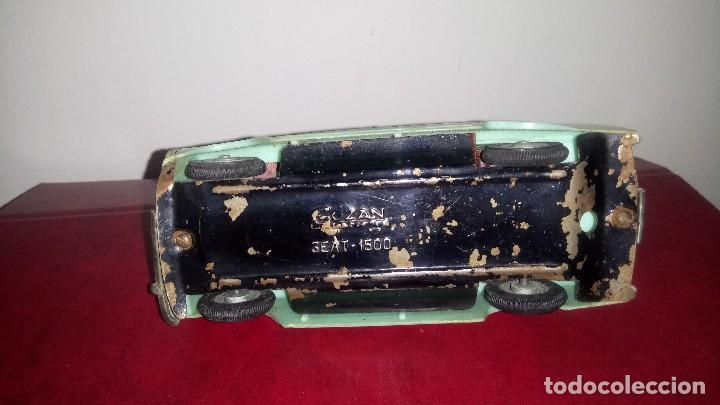 Juguetes antiguos Gozán: SEAT 1500 de GOZAN. - Foto 10 - 147372966