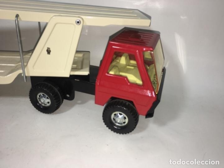 Juguetes antiguos Gozán: Juego Juguete camión hojadelata coloso de gozan - Foto 2 - 150350186
