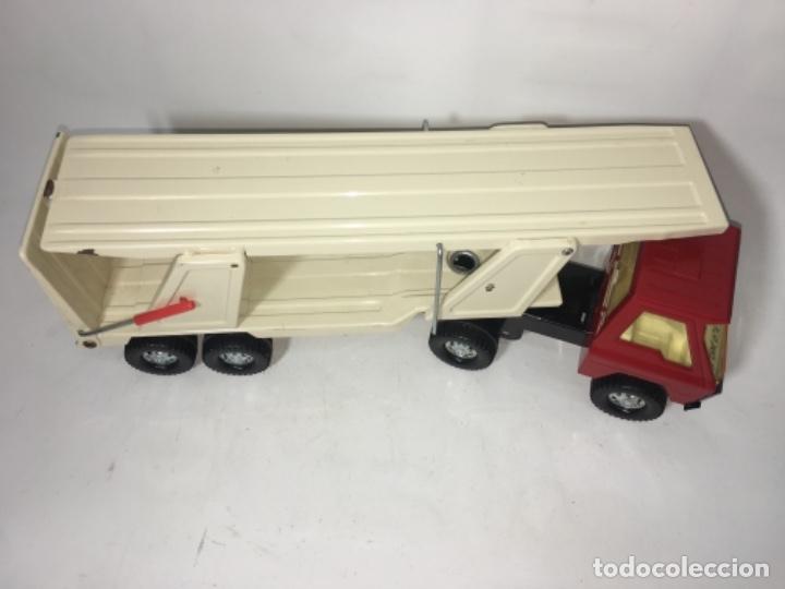 Juguetes antiguos Gozán: Juego Juguete camión hojadelata coloso de gozan - Foto 3 - 150350186