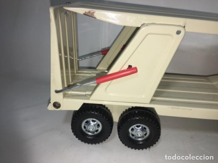 Juguetes antiguos Gozán: Juego Juguete camión hojadelata coloso de gozan - Foto 4 - 150350186
