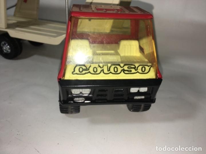 Juguetes antiguos Gozán: Juego Juguete camión hojadelata coloso de gozan - Foto 5 - 150350186