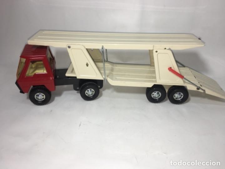 Juguetes antiguos Gozán: Juego Juguete camión hojadelata coloso de gozan - Foto 6 - 150350186